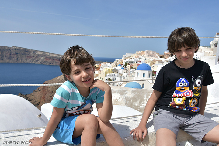 Santorini for children