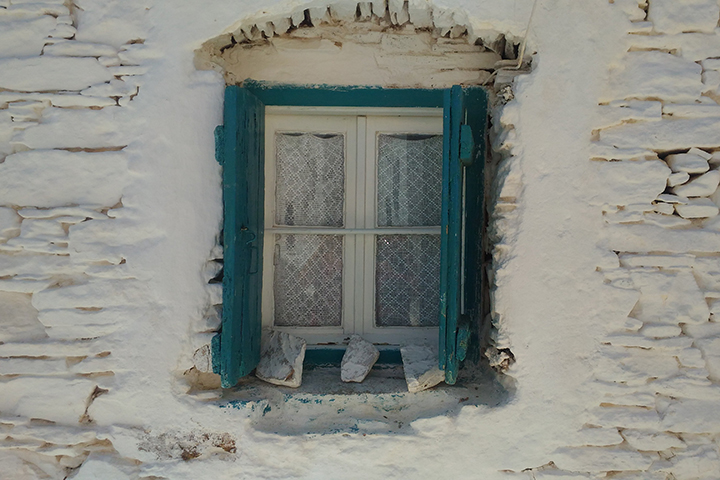 Kythnos house decorations