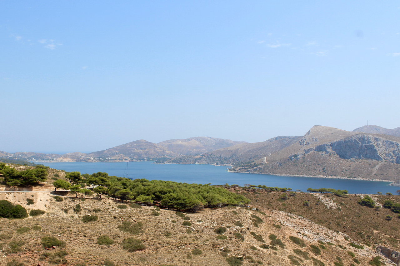 View of Lakki harbour